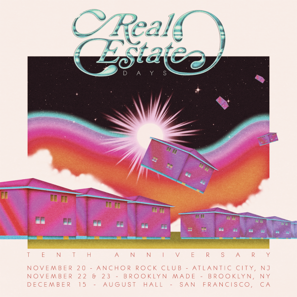Real Estate announce 'Days' 10-year anniversary shows; tickets on sale now
