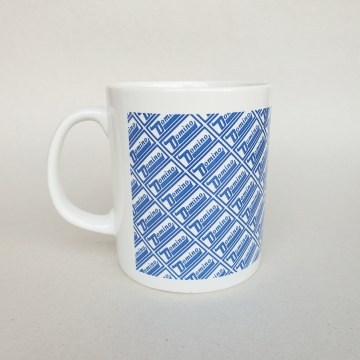 Domino - Mug - Blue/White