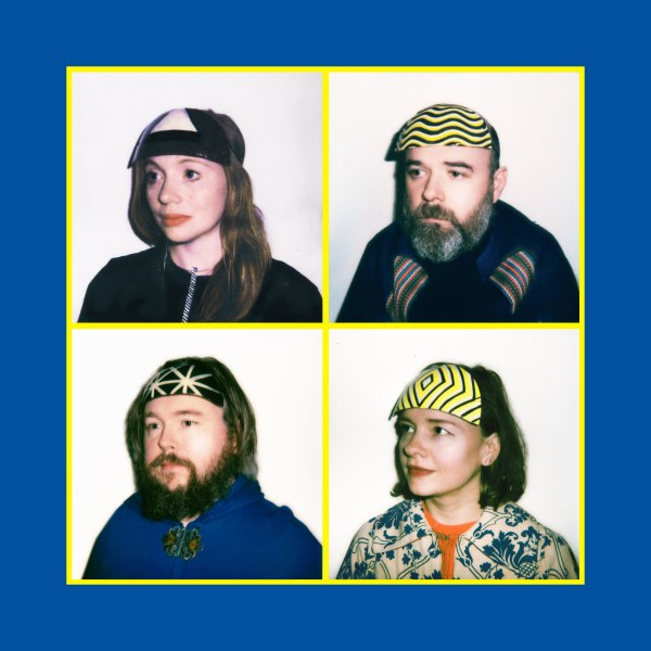 "Hen Ogledd share new track, ""Space Golf"""