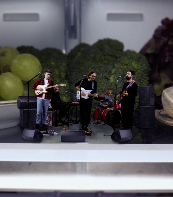 "Real Estate perform ""Gone"" live from a refrigerator in new music video"