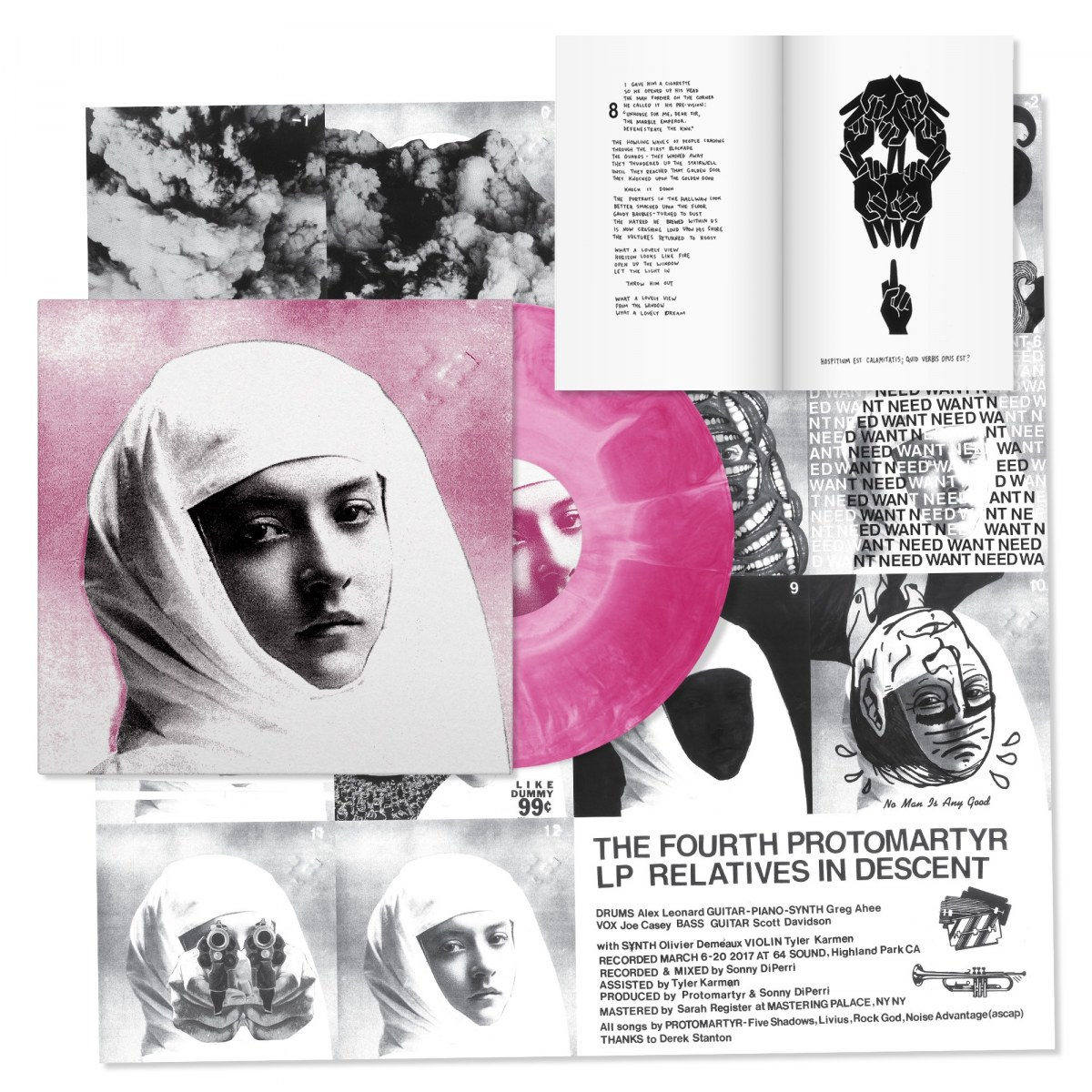 Protomartyr - Relatives In Descent (Limited Deluxe LP) | Domino Mart