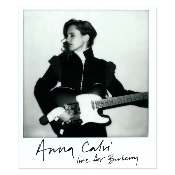 Anna Calvi soundtracks Burberry's 2017 collection, live at Maker's House, London