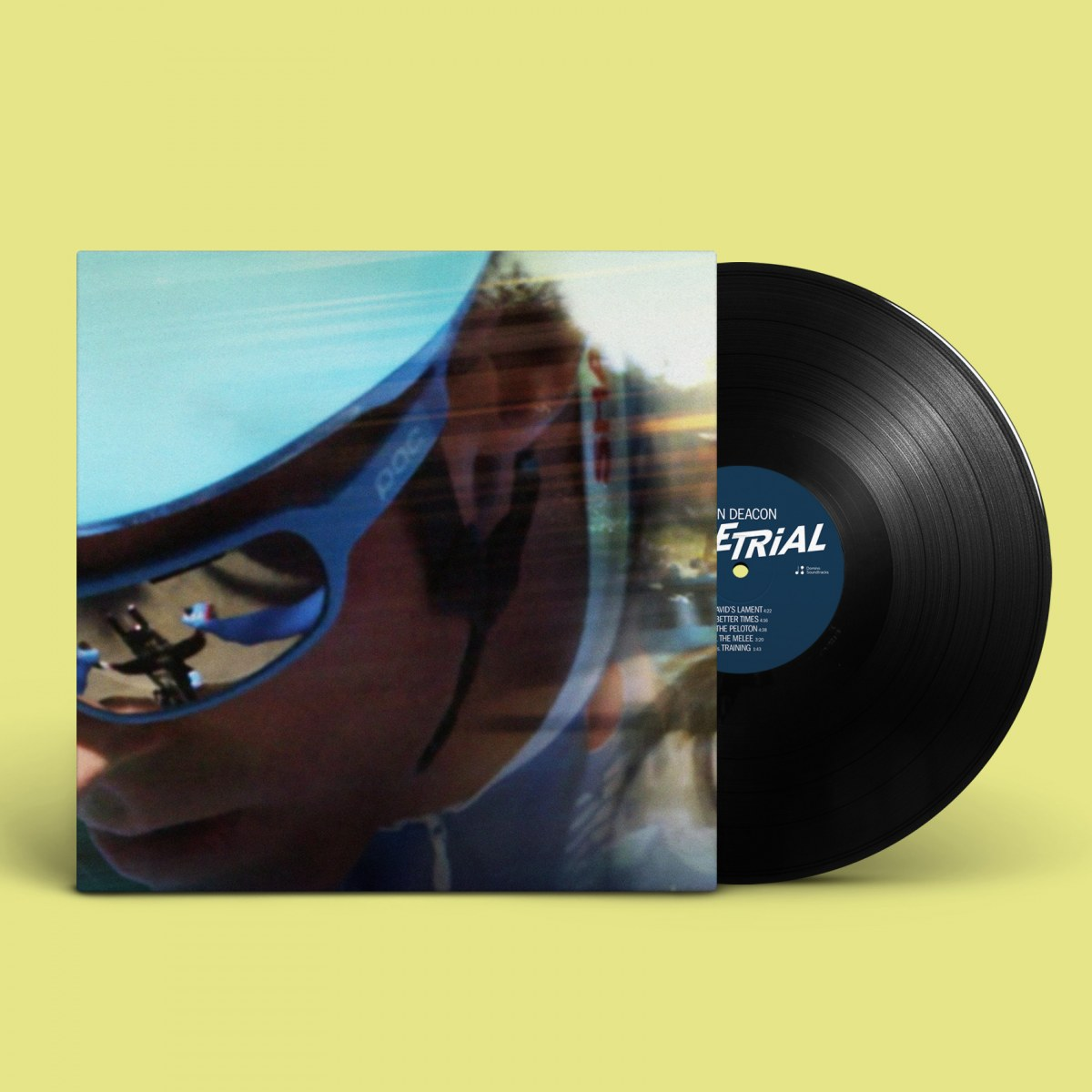 164de34ba9f Dan Deacon - Time Trial (Original Score) (LIMITED EDITION LP)