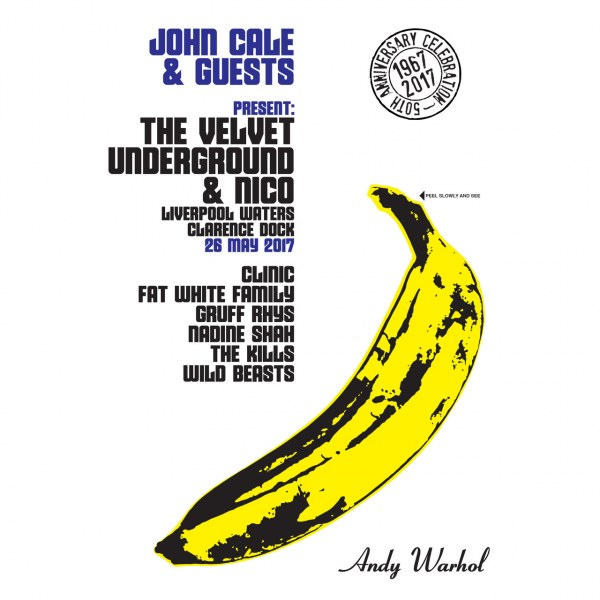 50th Anniversary of The Velvet Underground special guests announced