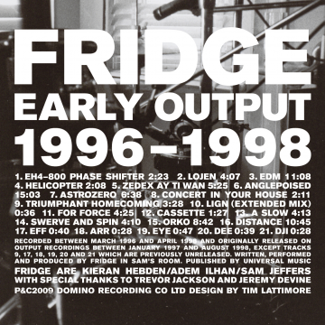 Fridge - Early Output 1996-1998